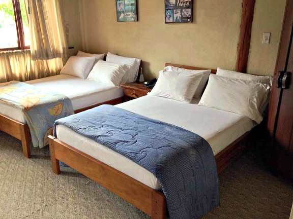 Comfortable rooms at La Casa del Abuelo