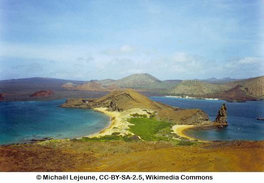 Barren but beautiful...Galapagos.