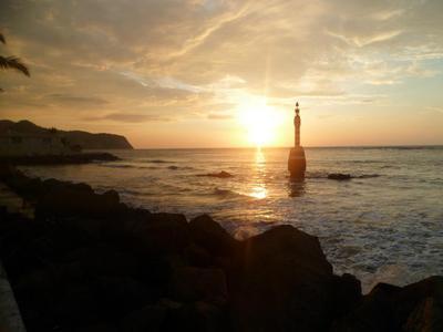 Sunset in Bahia de Caraquez