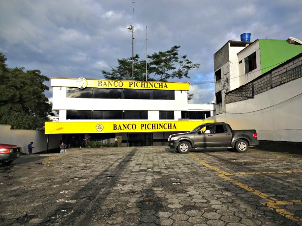 Banco de Pichincha, Tena Ecuador