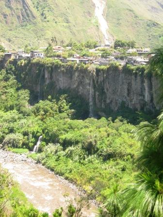Pastaza River - Banos, Ecuador