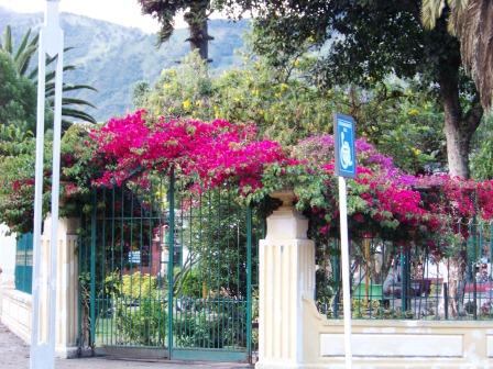 Banos Ecuador Park