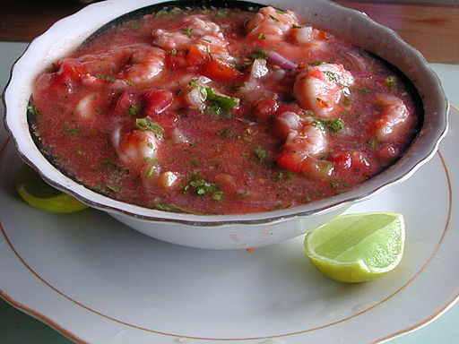 By Rinaldo Wurglitsch (originally posted to Flickr as Ceviche, Ecuador) [CC-BY-2.0 (http://creativecommons.org/licenses/by/2.0)], via Wikimedia Commons