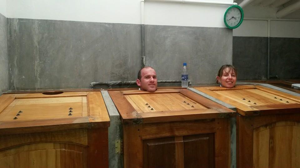 Hostal Chimenea Banos Ecuador