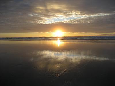 Sunset in Same