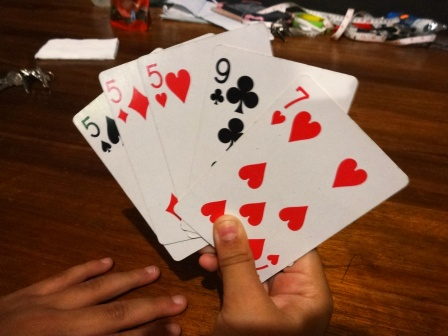 Playing Cuarenta - Ronda