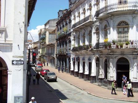 Downtown Cuenca Ecuador
