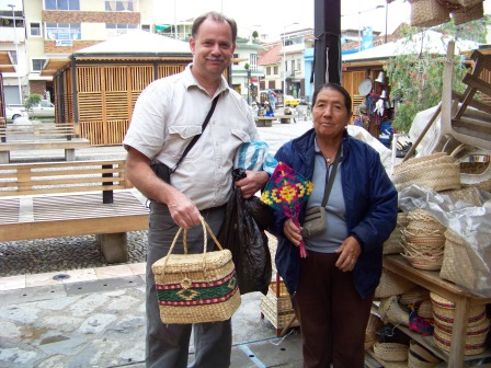 One of Cuenca's Craft Markets