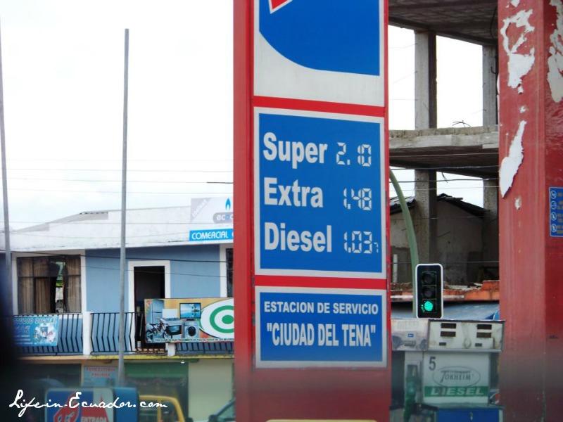 Gas Prices in Ecuador