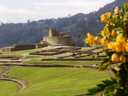 Ingapirca, near Cuenca, Ecuador