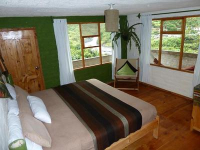 one of the many beautiful bedrooms at la casa verde