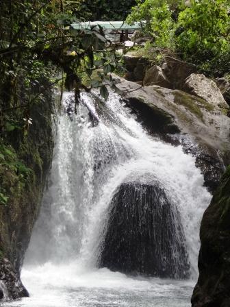 Cascada Nambillo, Mindo, Ecuador