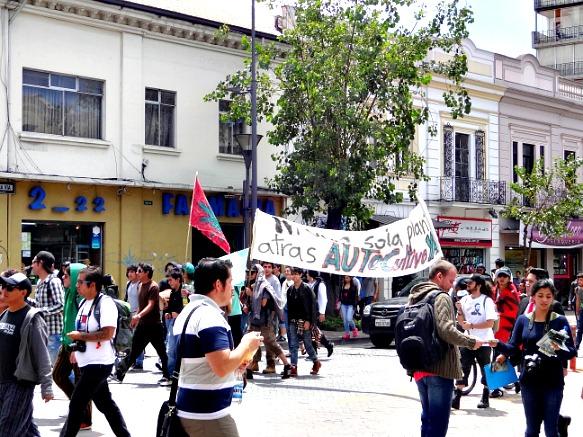 Pot Parade in Quito