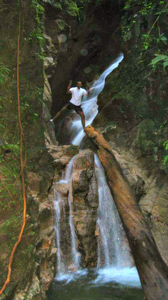 Canyoning jungle trip