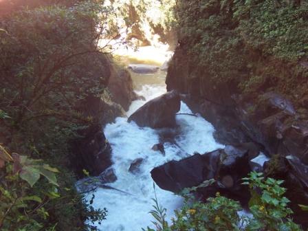 Banos Ecuador Waterfalls