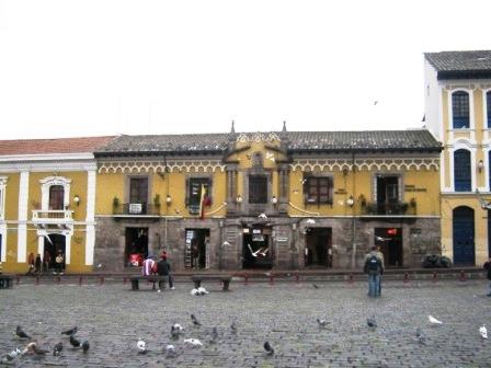 Old town Quito Ecuador