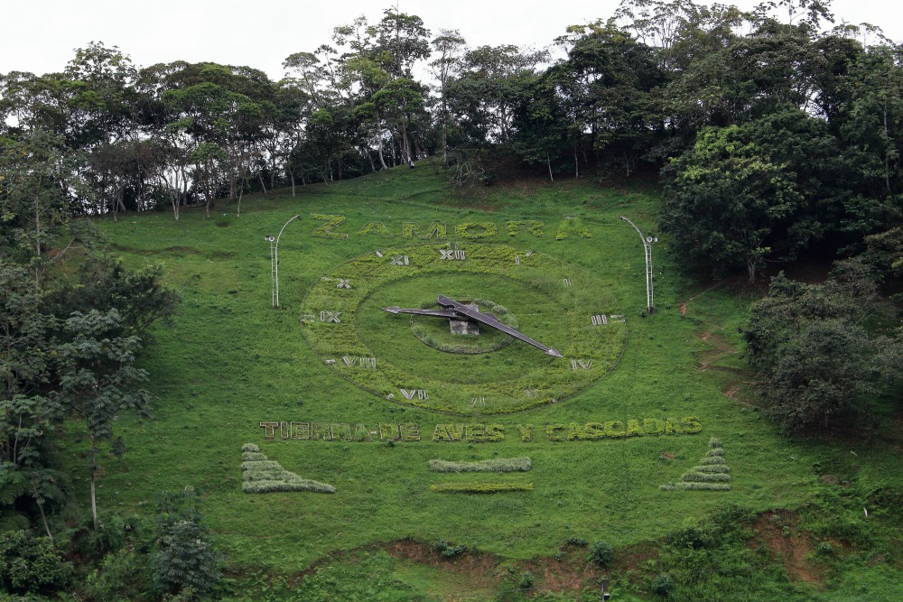 Zamora Ecuador Clock on the Hill