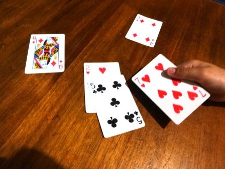 Playing Cuarenta