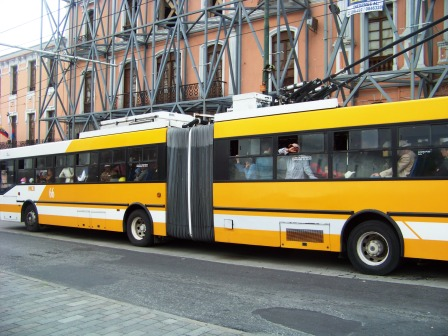Quito has an extensive trolley system used by thousands daily.