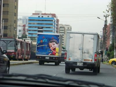 Driving in Quito