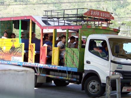 Chiva tour in Baños