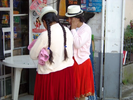 Indigenous clothing. Cuenca.