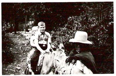 Me either Peru or Ecuador ca. 1955