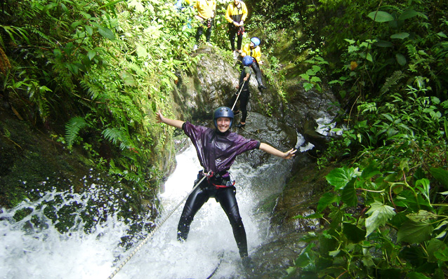 Canyoning with Geotours