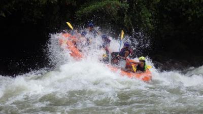 Rafting in Baños