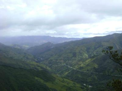 The Road from Loja to Vilcabamba