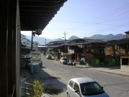 Main Street, Mindo Ecuador
