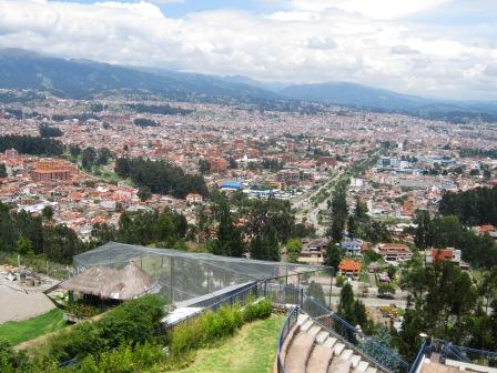 Mirador Turi, Cuenca
