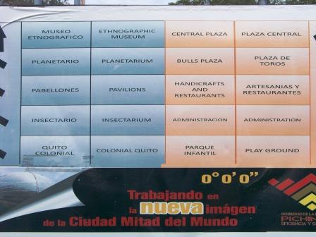 What to see at Mitad del Mundo