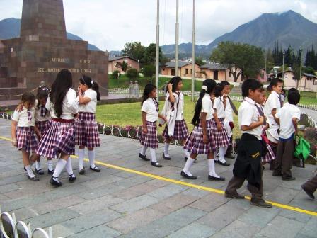 School Uniforms in Ecuador