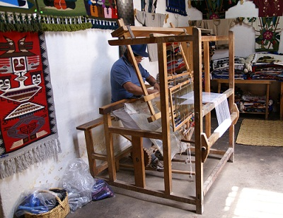 A talented craftsman in Ecuador